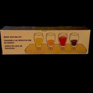 New Crate & Barrel BeerTasting Set! 🍻